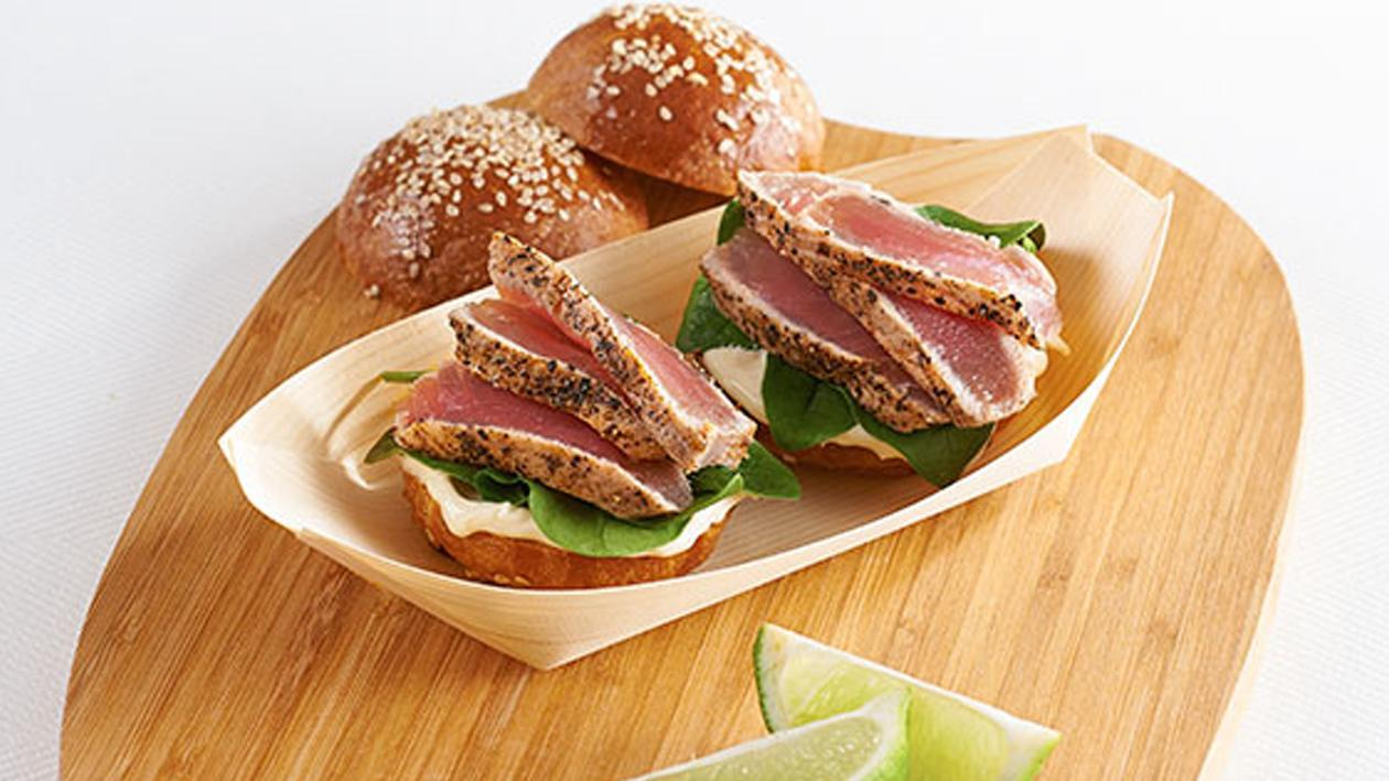Deep Sea Tuna Slider Recipe
