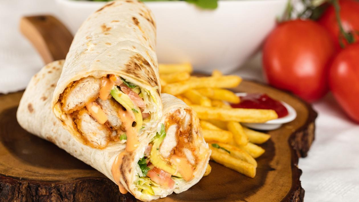 Dynamite Chicken Wrap