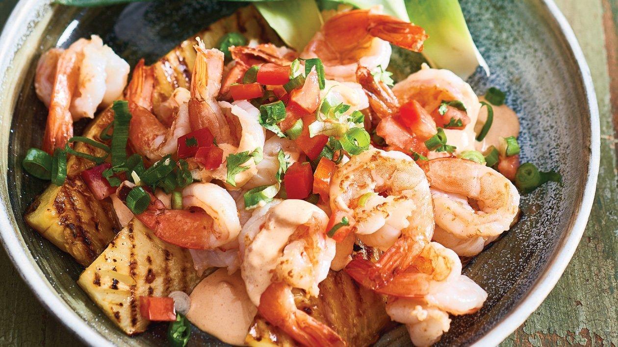 Hawaiian Shrimp Salad Recipe