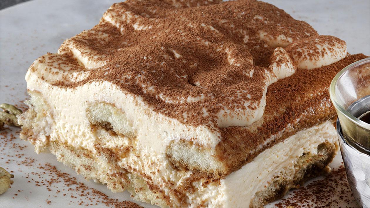 Italian Dessert: Karak Tiramisu Recipe