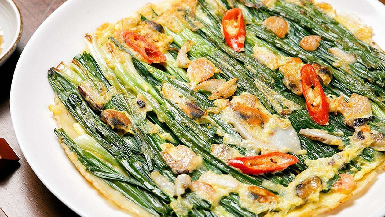 Korean Classic: Seafood Pancake Recipe