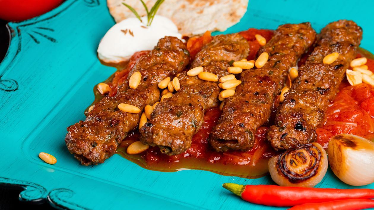 Lamb Kebab Halabi