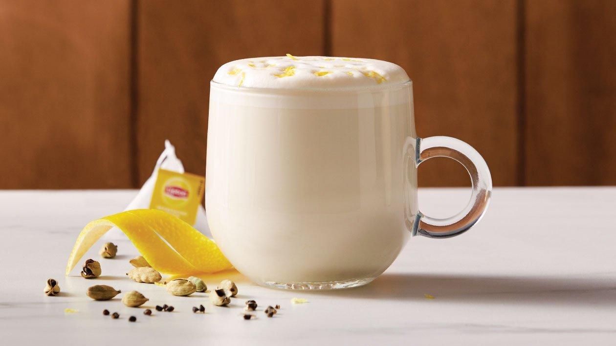 Lemon & Cardamom Cappuccino
