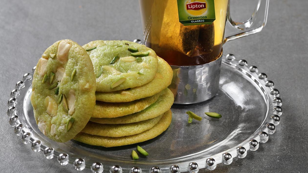 Lime and White Chocolate Cookies
