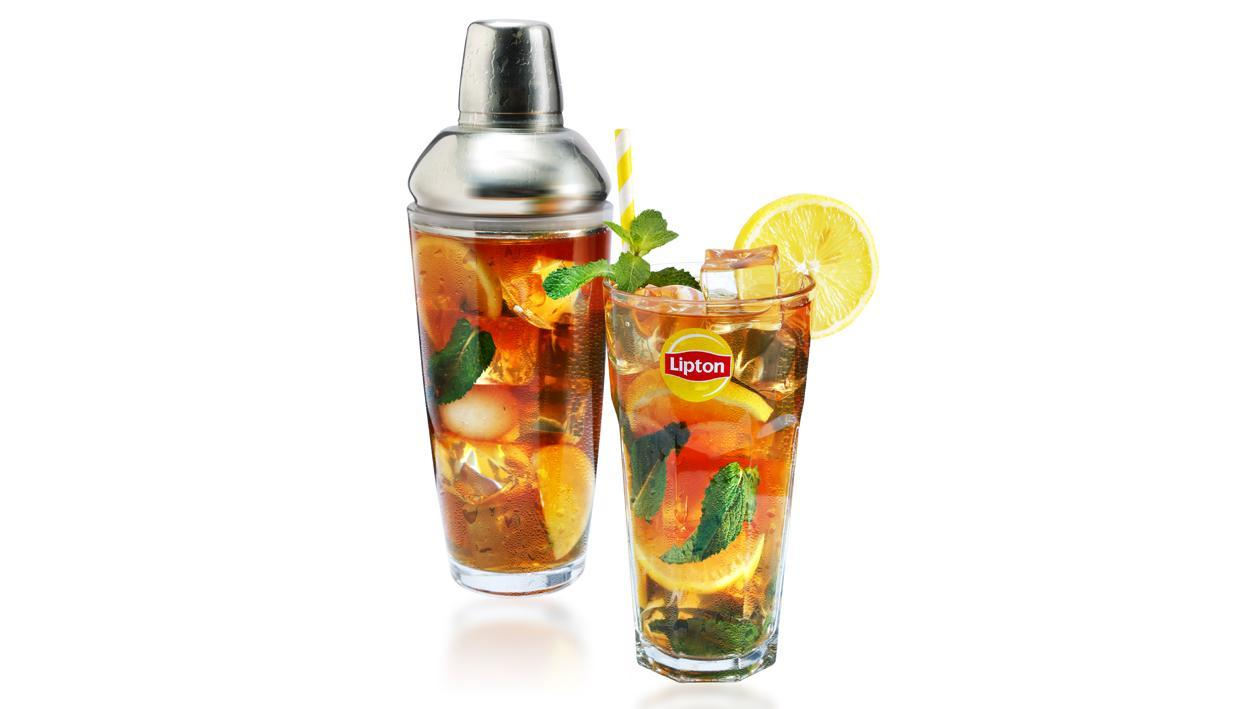 Lychee Mint Lemon Iced Tea Recipe Unilever Food Solutions