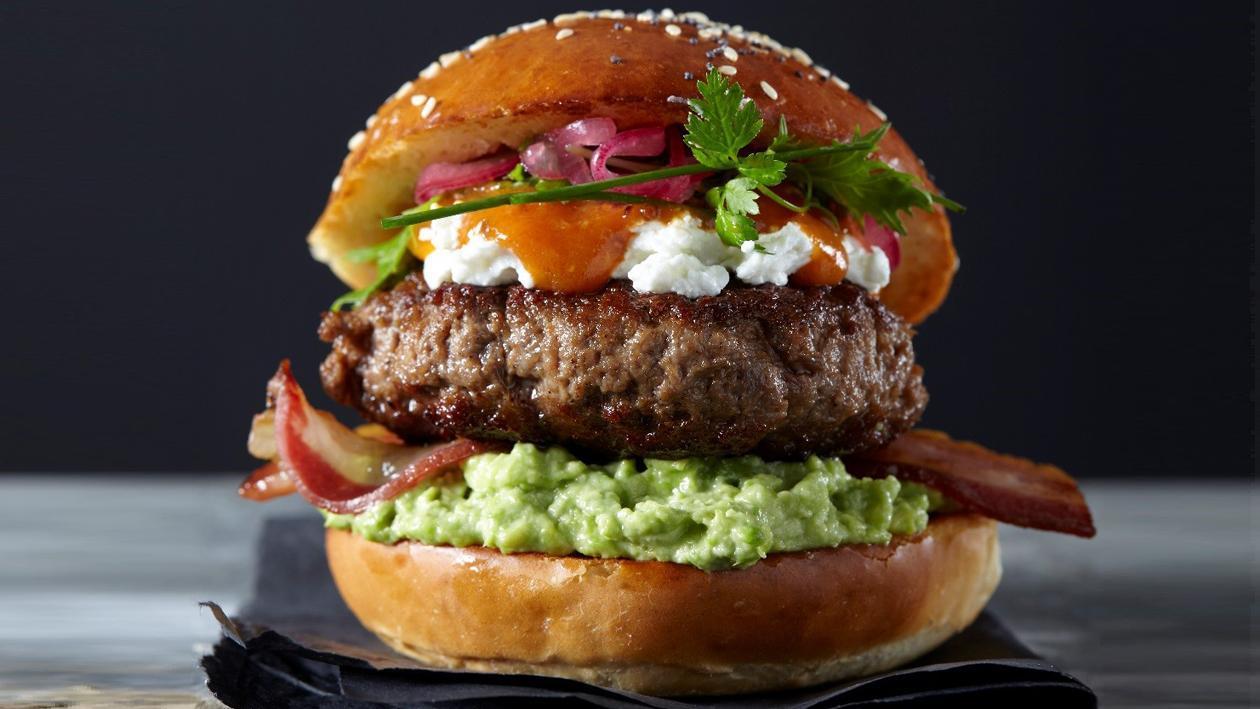 New York Beef Shawarma Burger