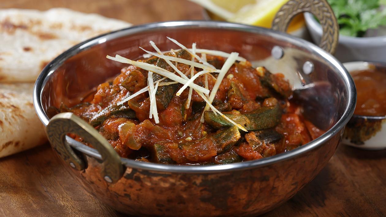 Okra Tomato Masala Recipe
