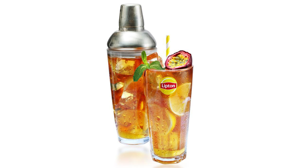 Passion Fruit Lemon Ice Tea