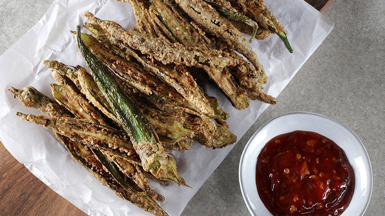 Ramadan Special: Crispy Okra Fingers Recipe