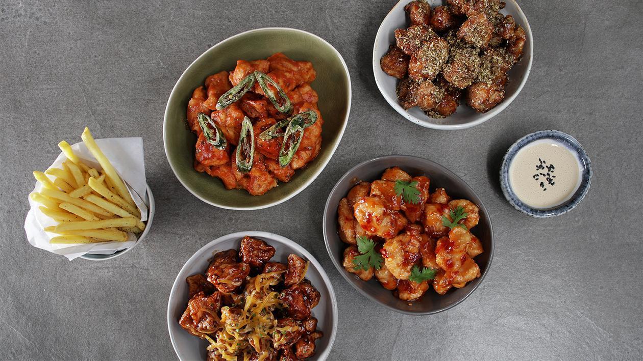 Spicy Tomato Pesto Chicken Poppers Recipe