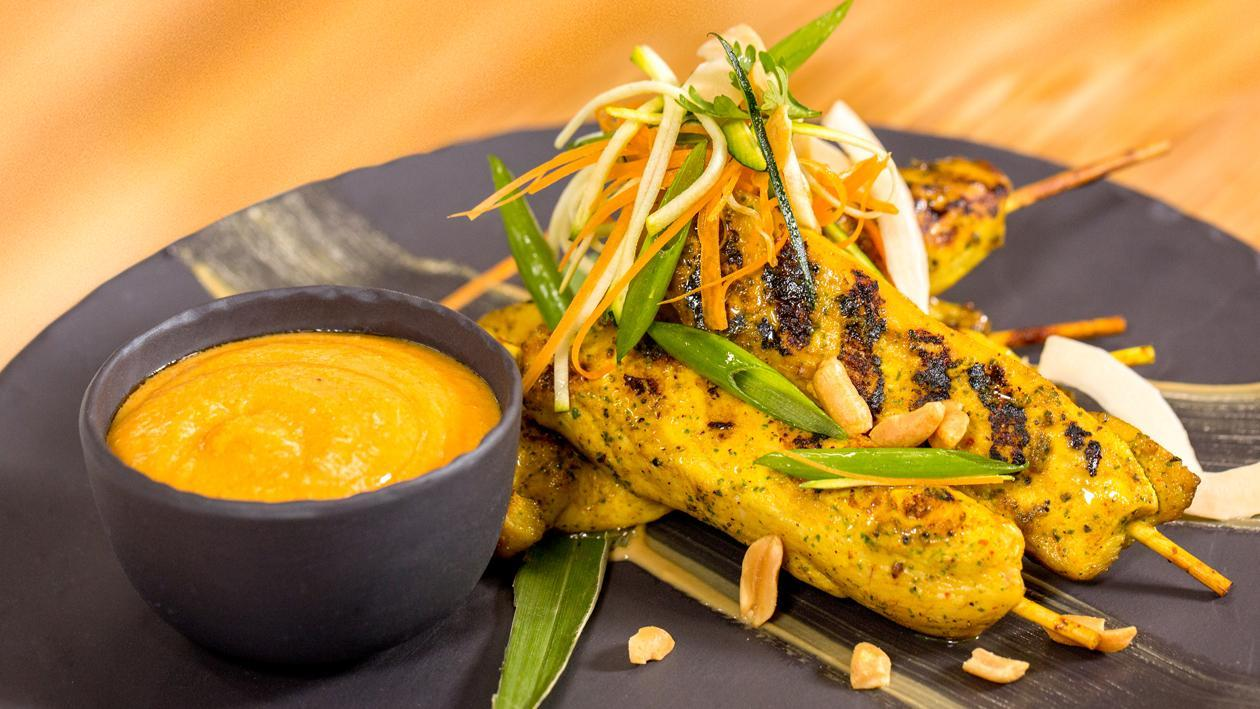 Thai Chicken Satay Peanut Sauce