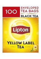 LIPTON Yellow Label Tea - Enveloped Tea Bags 100x2g