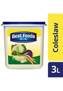 BEST FOODS Coleslaw Dressing 3L -