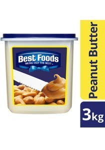 BEST FOODS Peanut Butter 3kg