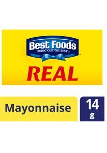 BEST FOODS Real Mayonnaise (Sachet) 14g