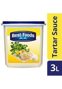 BEST FOODS Tartar Sauce 3L