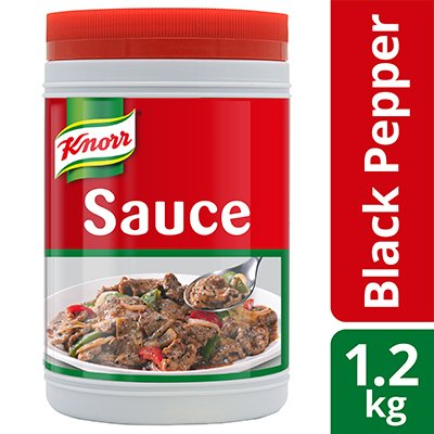 Knorr Black Pepper Sauce 1.2kg -