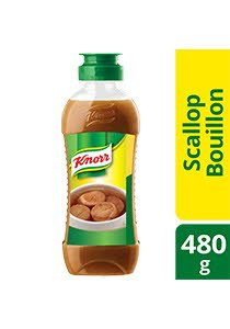 KNORR Concentrated Scallop Bouillon 480g -