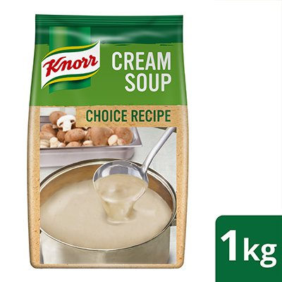 Knorr Cream of Mushroom Soup (Choice Recipe) 1kg -