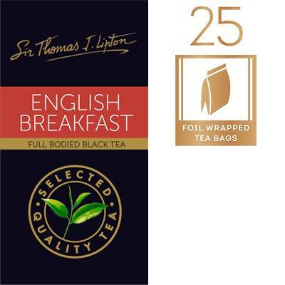 LIPTON Sir Thomas Lipton English Breakfast 25x2.4g