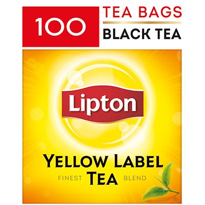 LIPTON Yellow Label Tea - Service Pack 100x2g -