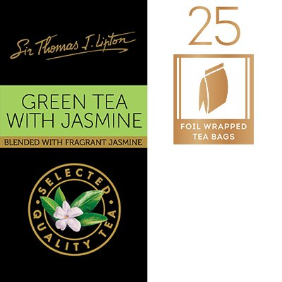 SIR THOMAS LIPTON Green Tea with Jasmine 2g -