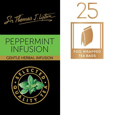 SIR THOMAS LIPTON Peppermint 1.5g -