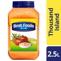 Best Foods Thousand Island Dressing 2.5L
