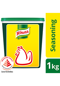 KNORR Chicken Seasoning Powder 1kg - Knorr Chicken Seasoning Powder is a superior and trusted seasoning that elevates the natural flavour and aroma in any dish.