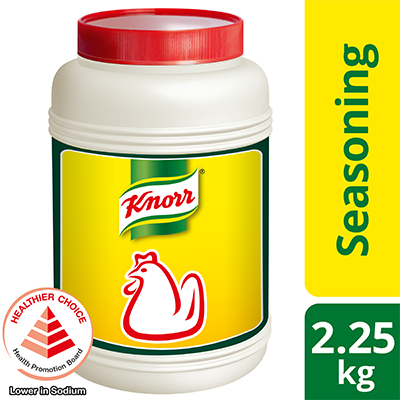 Knorr Chicken Seasoning Powder 2.25kg - Knorr Chicken Seasoning Powder is a superior and trusted seasoning that elevates the natural flavour and aroma in any dish.