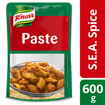 Knorr South East Asian Spice Paste 600g - Knorr South East Asian Spice Paste lets you create the variety you need efficiently.
