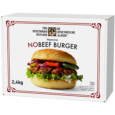 NoBeef Burger - Suitable across a variety of cooking methods, cuisines and dishes