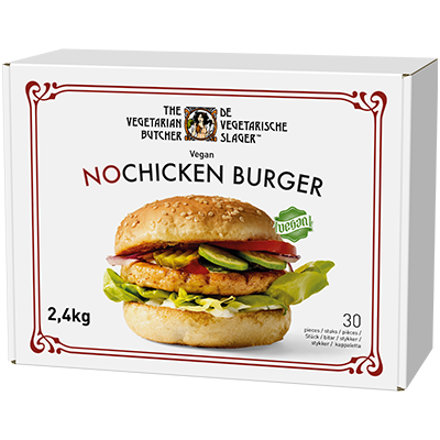 NoChicken Burger - Suitable across a variety of cooking methods, cuisines and dishes