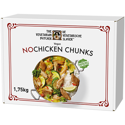 NoChicken Chunks - Suitable across a variety of cooking methods, cuisines and dishes