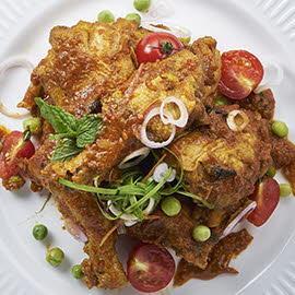 Chicken in Aromatic Chilli & Tomato Sauce