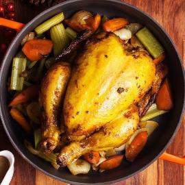 Italian Herbs Roasted Chicken