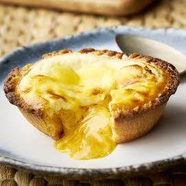 Salted Egg Lava Cheese Tart