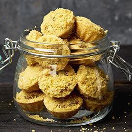 Salted Egg Pineapple Crumblets