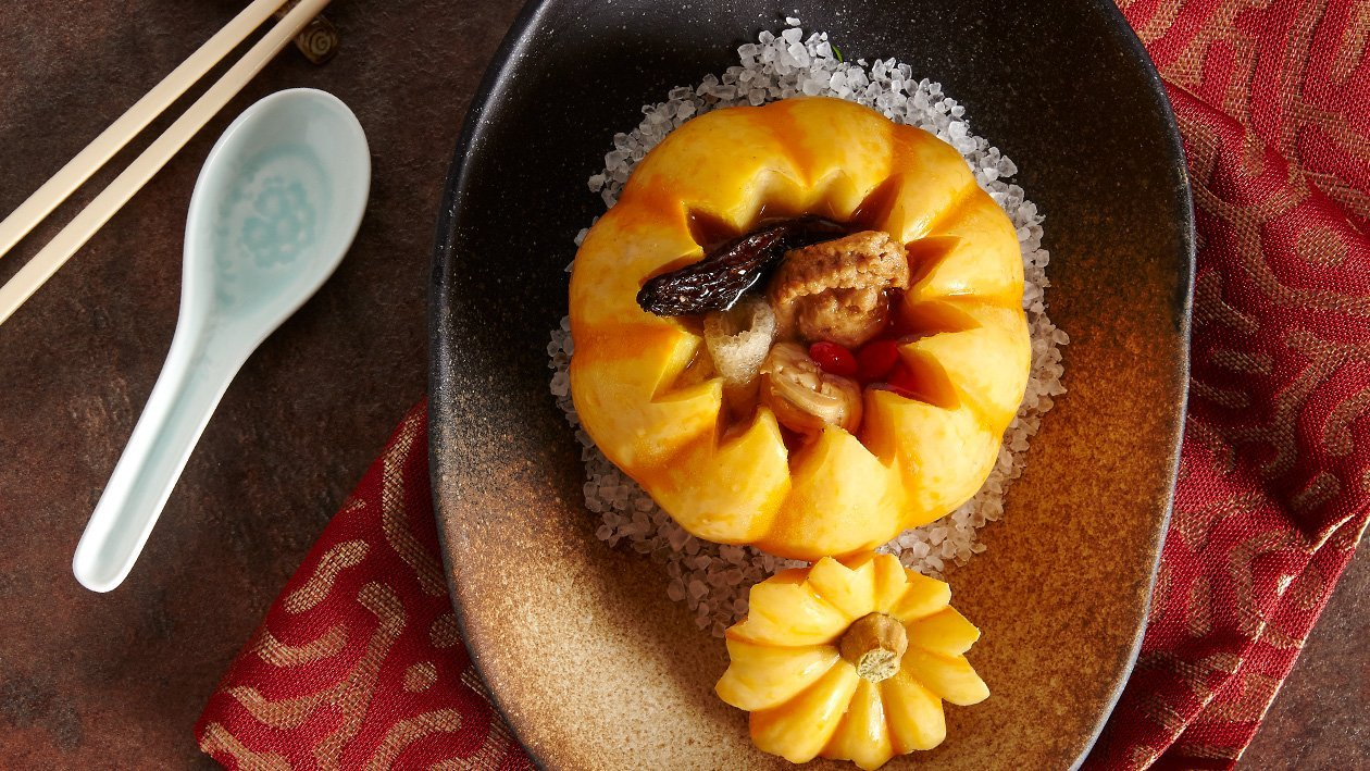 """Abalone"" Pumpkin Bowl"