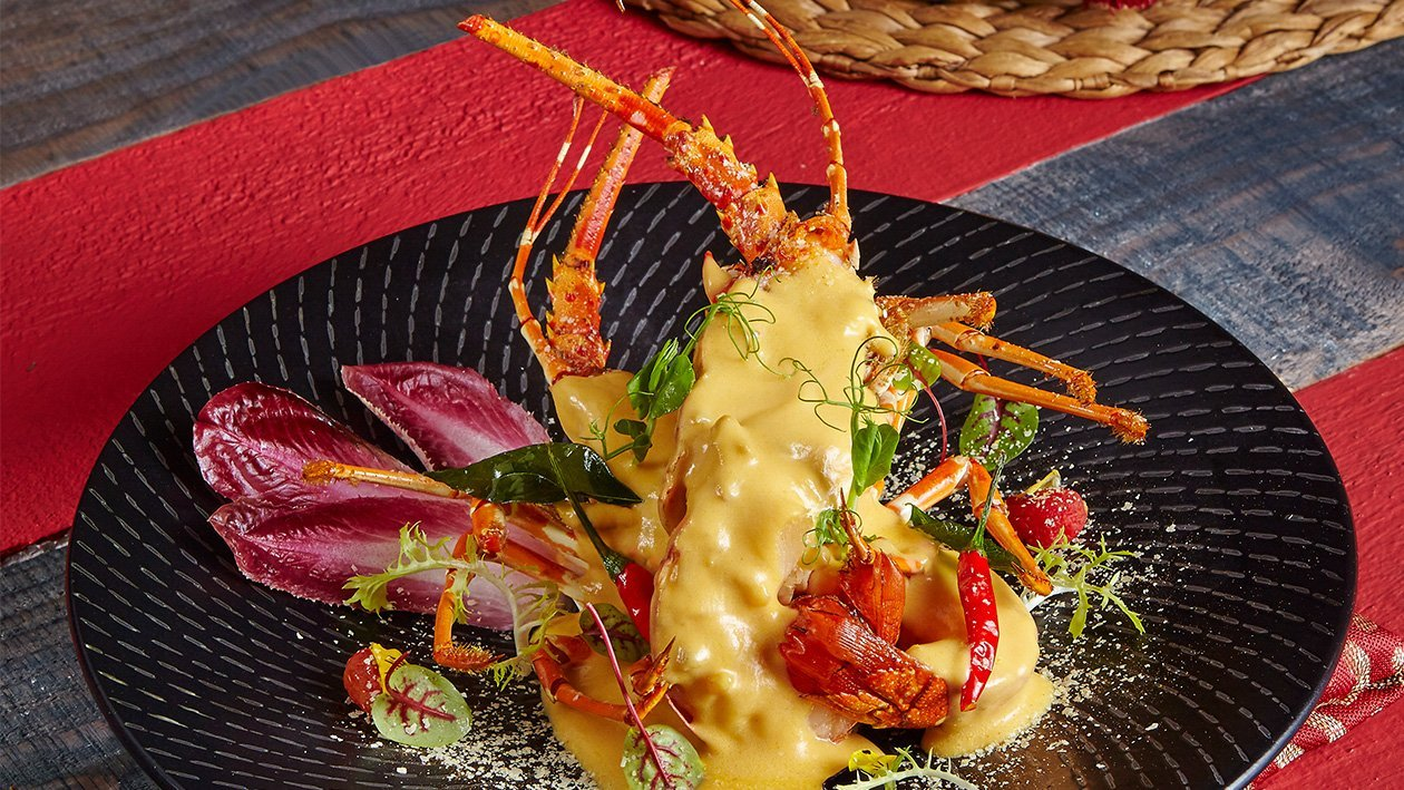Baked Lobster in Creamy Curry