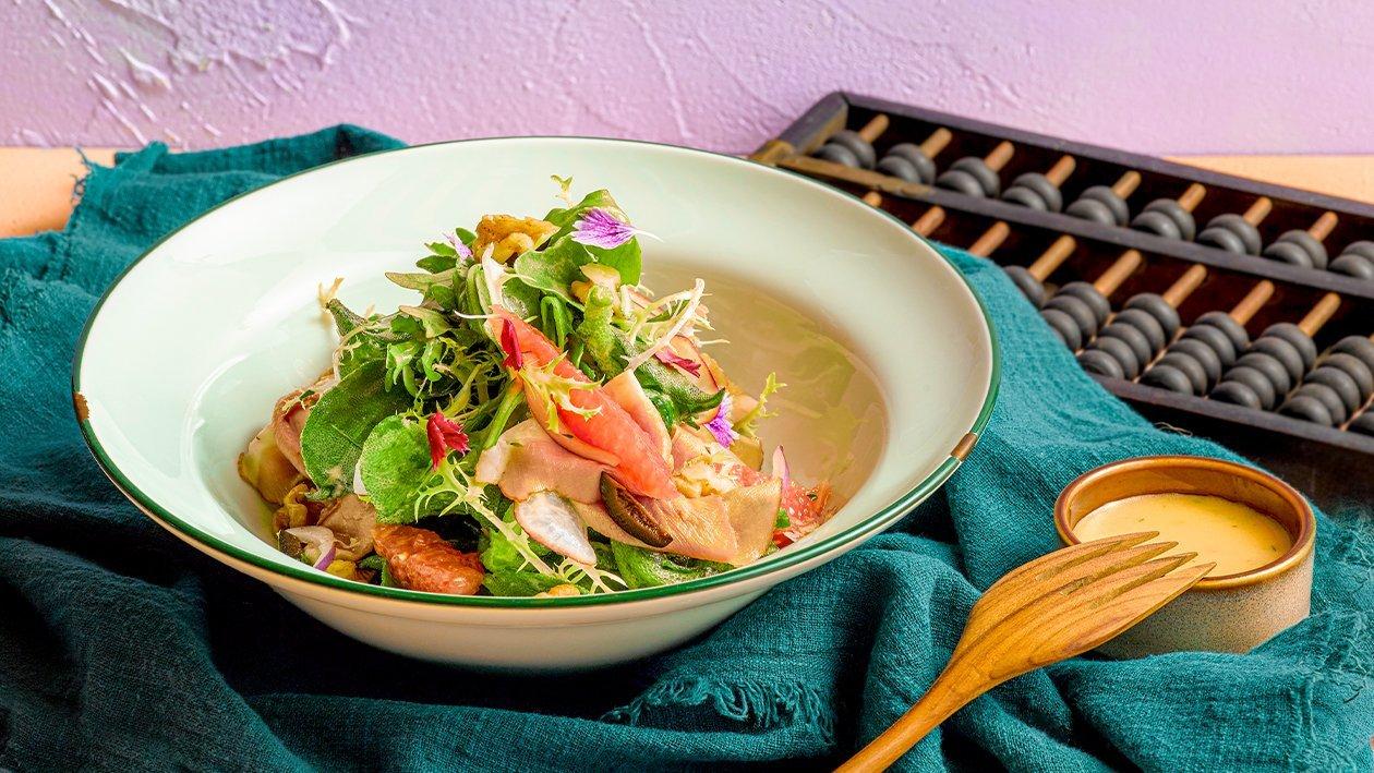 Cheesy Gremolata Salad