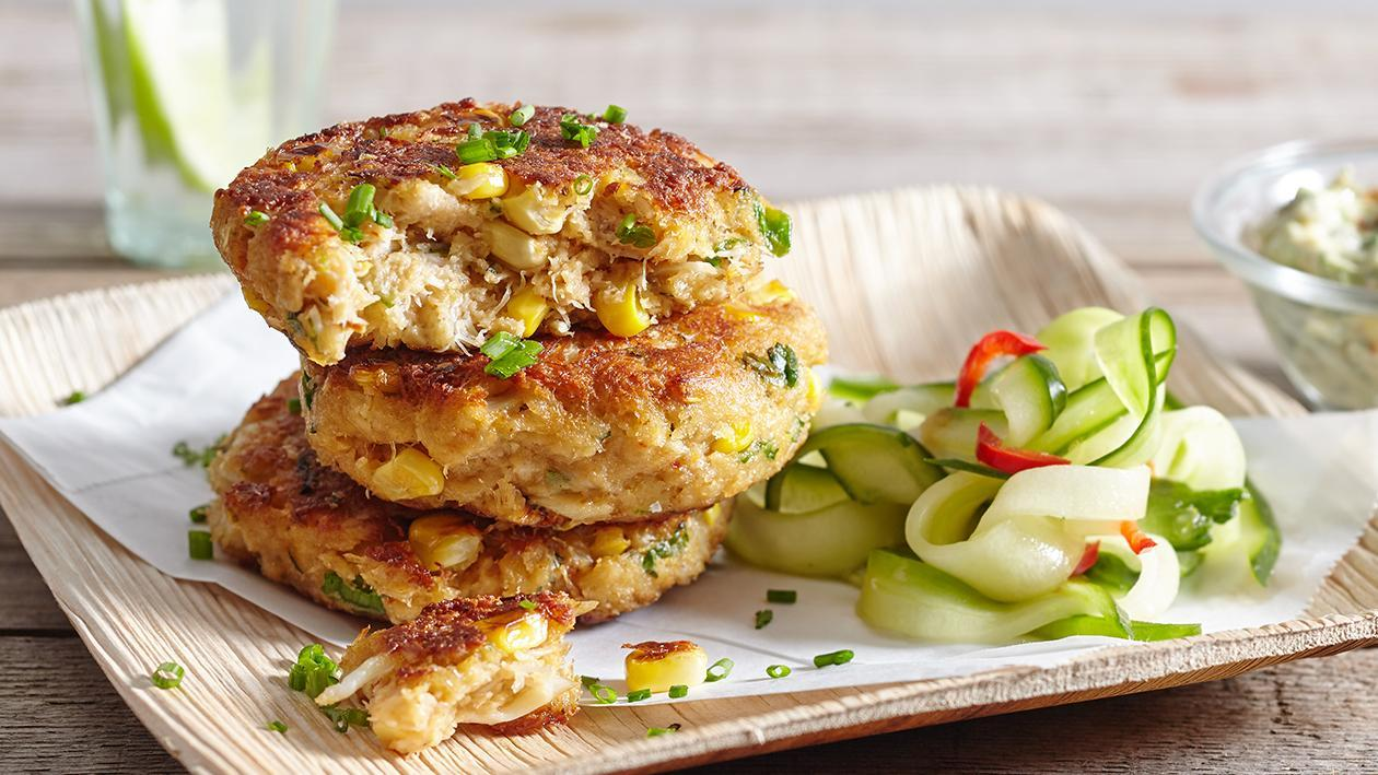 Crab Cakes with Louisiana Remoulade