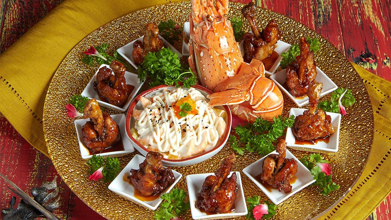 Double Happiness Appetizer Platter