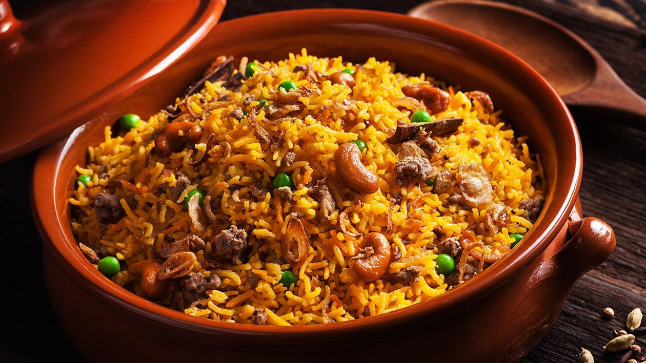 Middle Eastern - Style Lamb Rice