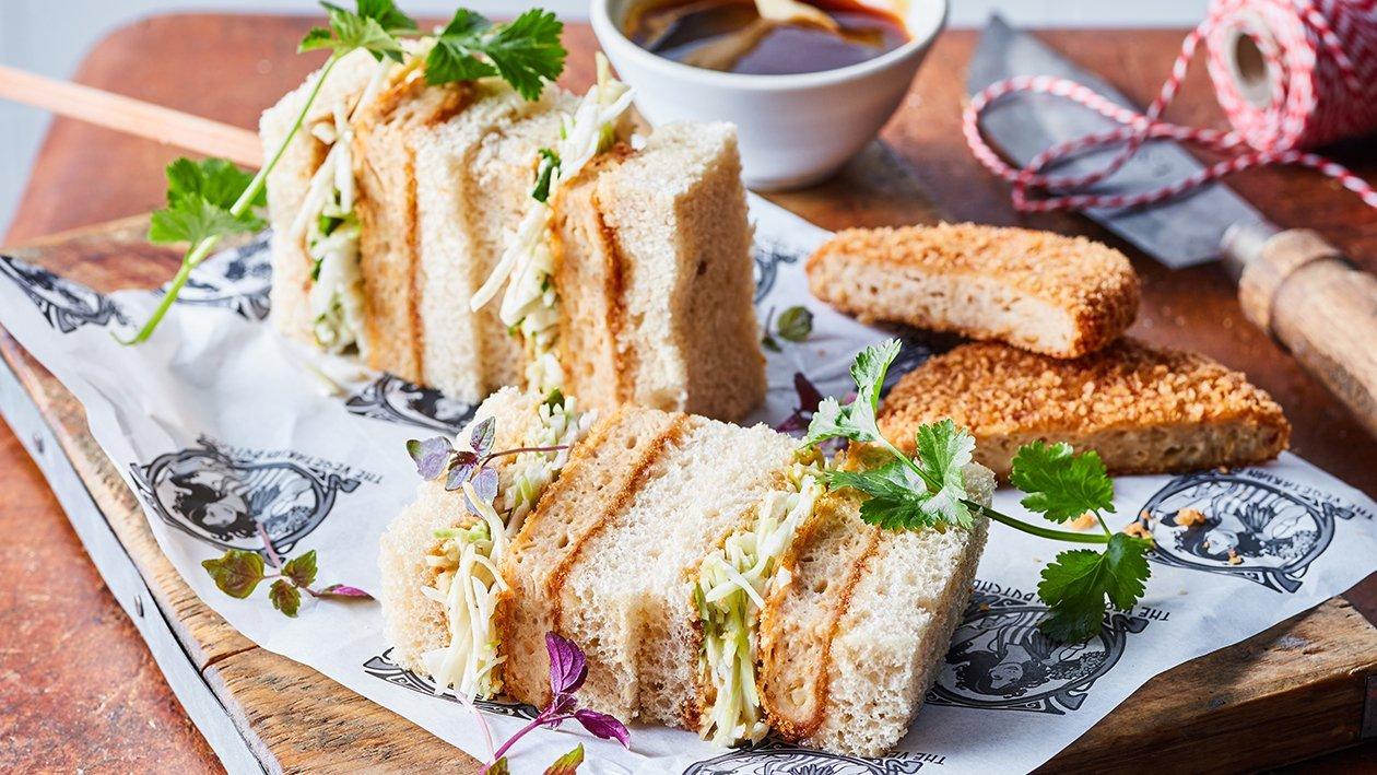 NoChicken Katsu Sandwich