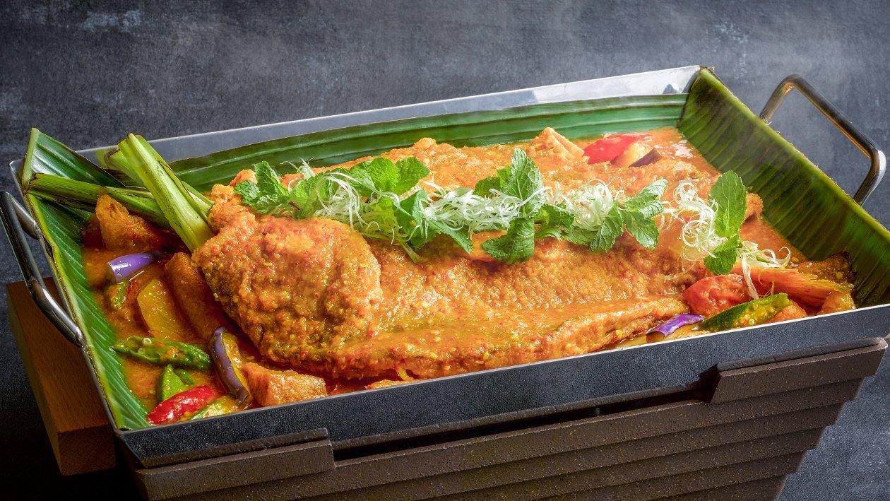 Nyonya Stewed Red Snapper
