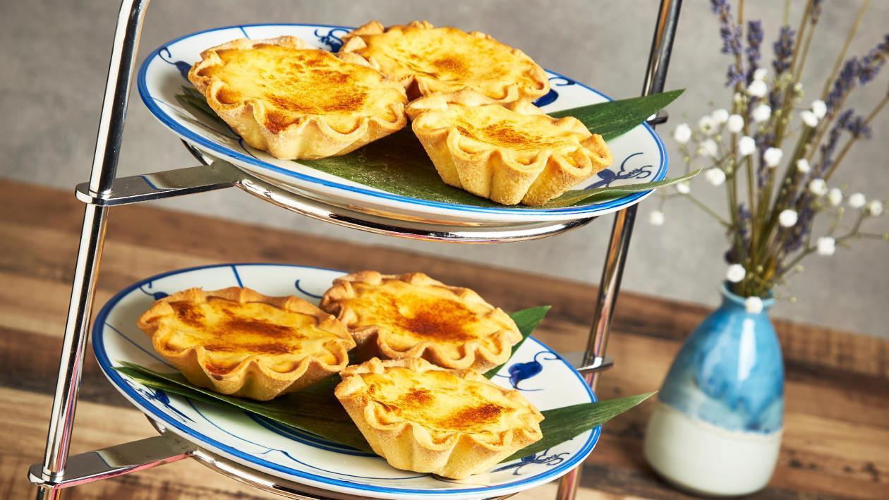 how to make egg tart portuguese