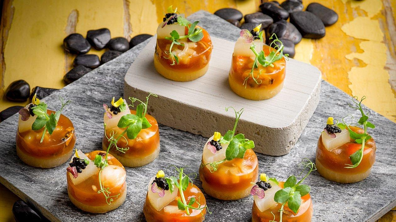 Seafood Gumbo Aspic