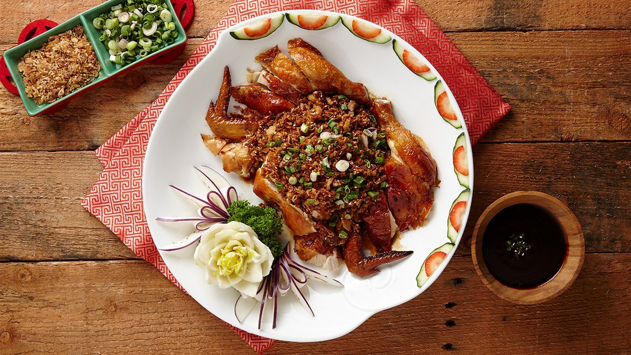 Spicy Roasted Chicken with Herbs