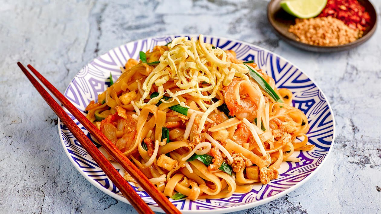 Stir Fried Pad Thai Noodles